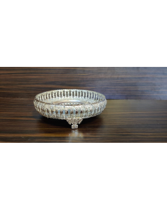 Imported Tray | Plate- impressive imported German silver tray 10 inch