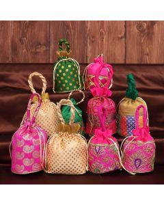 Potli Bag Assorted Pack of 10