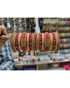 Customized  Bangles based on your Sari or any color of your choice Buy Online -19