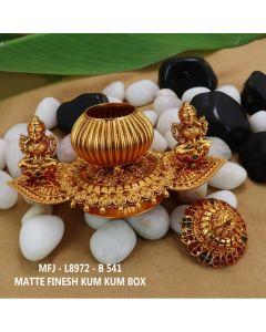 Rubyemerald-Stones-Mat-Finished-Double-Lakshmi-Design-Kum-Kum-Box-Buy-Online