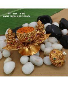 Rubyemerald-Stones-Mat-Finished-Double-Lakshmi-With-Peacock-Design-Kum-Kum-Box-Buy-Online