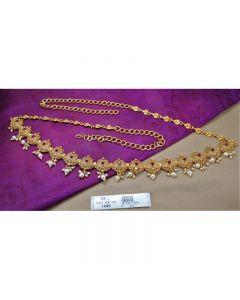 Ruby Stones Mat Finish Designer Hip Chain Buy Online12919