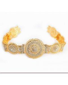 White Stone Oddiyanam  Temple Oddiyanam  Dance Jewelry Online