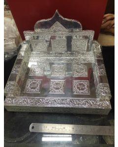 Imported German Silver Chowki Shimsana